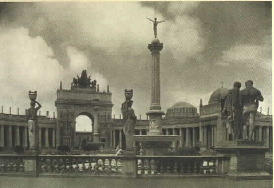 Court of the Universe, Panama-Pacific International Exposition, 1915.