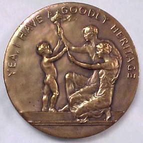 American Eugenics Society Medallion (Obverse)