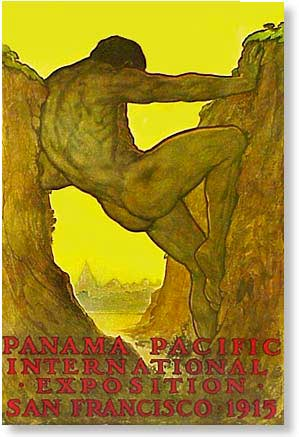 Panama-Pacific International Exposition poster, 1915